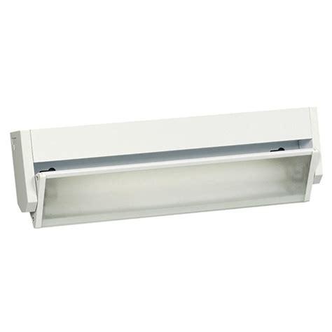 cabinet fluorescent lighting kitchen filament design negron 1 light white fluorescent 8660