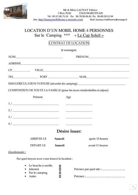 modele contrat de location voiture contrat de location gratuit 2012