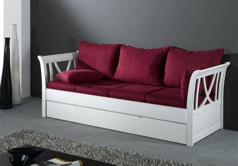 canapé lit tiroir canape gigogne convertible