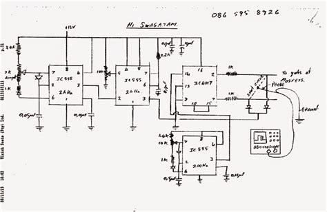 modified sine wave inverter circuit with waveform verified circuit diagram centre
