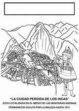 Peru Pichu Machu Enregistree Depuis Ficha Europa sketch template