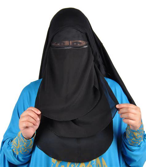 niqab gesichtsschleier schwarz hijab  kaufen egypt