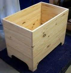 images  blanket chests  pinterest pallet trunk storage chest  woodworking plans