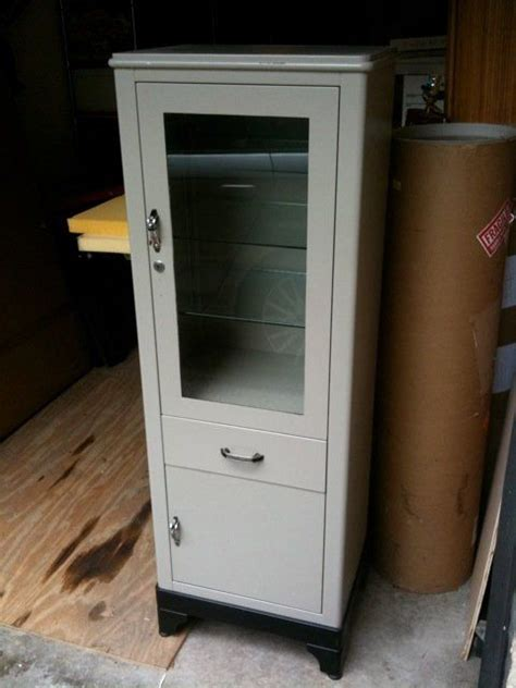 Metal Cabinets For Sale by Vintage Steel Medicine Cabinet Tower Medicine Posts And