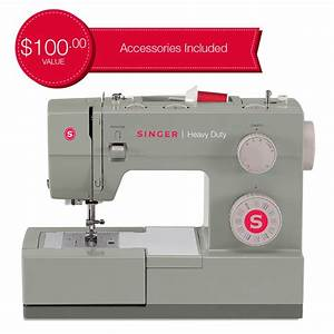 Singer Heavy Duty 4411 Sewing Machine With 11 Built