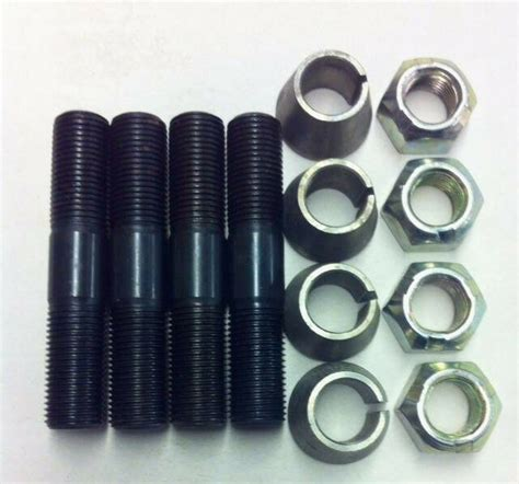 oe style 44 stud and conical washer 4 steering arm install kit ebay