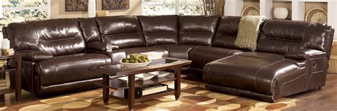leather reclining sectional with chaise leather reclining sectional sofa with chaise
