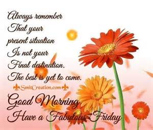 Fabulous Friday Good Morning Quotes