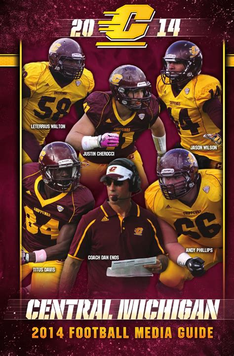 ISSUU - 2014 Football Media Guide by Robert Wyman