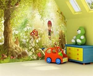 Fototapete Kinderzimmer Wald : tapeten f r kinderzimmer ideen von den kleinen ~ Watch28wear.com Haus und Dekorationen