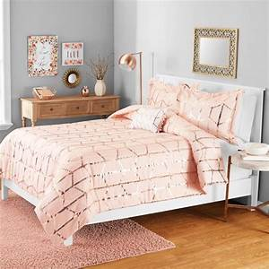 Your, Zone, Gold, Metallic, Print, Comforter, Set, With
