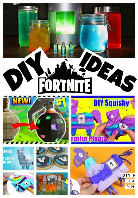 diy fortnite crafts party ideas craft party crafts