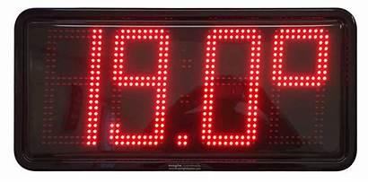 Temperature Led Date Clocks Clock Digital Temp