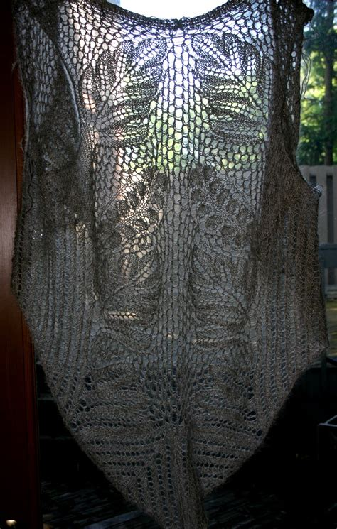 mithril lord rings sunflower designs pattern collection ring would towers knitted vest shawl