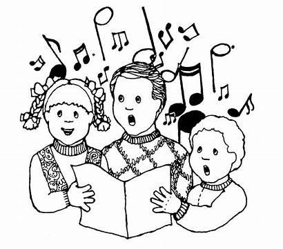 Clip Class Clipart Singing Clipartpanda Children Coloring