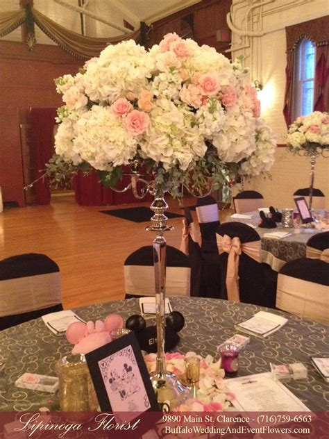 Tall Wedding Centerpieces Buffalo NY   Buffalo Wedding & Event Flowers by Lipinoga Florist