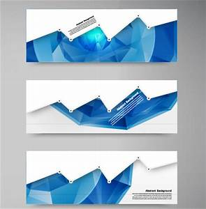 Geometric shapes abstract banners graphic vector 01 ...