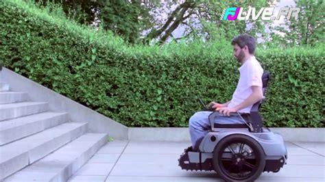 prix de chaise roulante ils inventent un fauteuil roulant capable de monter un escalier
