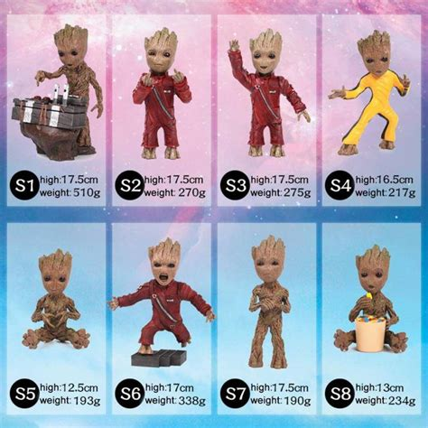 guardians   galaxy vol  baby groot gum dolls