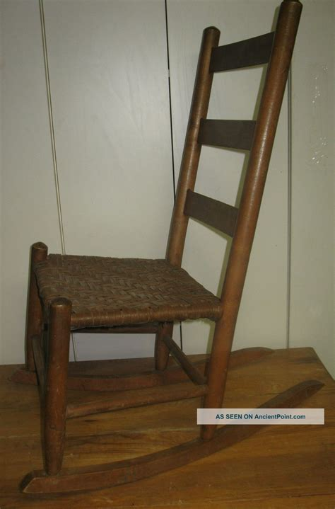 creative project ladder back rocking chair plans must see