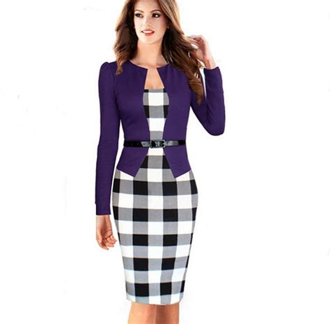 robe de bureau buy wholesale tartan purple from china tartan