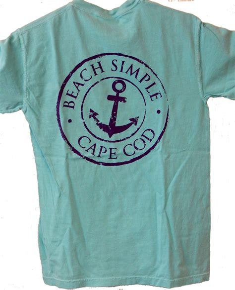 Beach Simple  Cape Cod Pigment Dyed Short Sleeve Tshirt