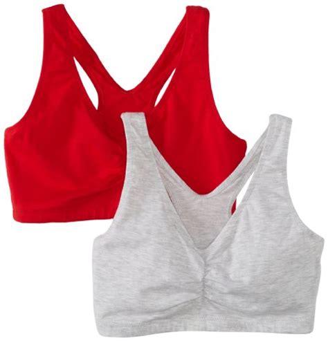 hanes comfort fit bra hanes s comfort blend flex fit pullover bra 2 pack