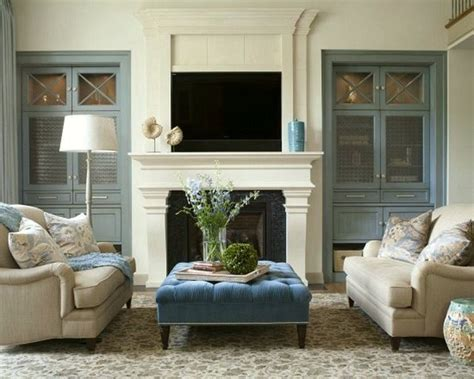 20 Great Fireplace Mantel Decorating Ideas Bathroom Light Sensor Primitive Lighting Justice Design Group Shabby Chic Free Makeover Black And Gray Rugs Brass Lights Blue White Ideas
