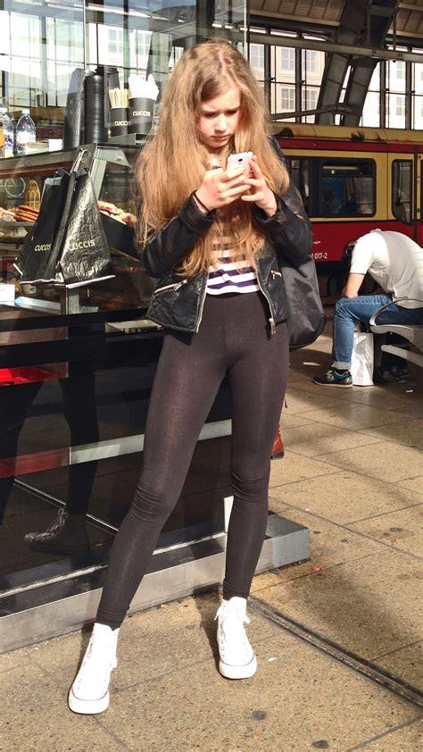 young german teen  yoga pants creepshots