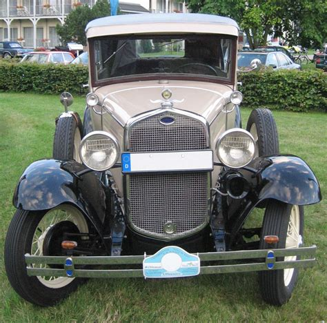 Ford A Tudor Sedan, 1930