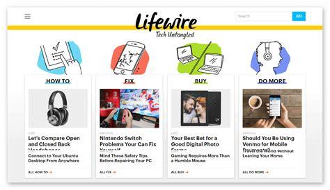 Lifewire Website » Rizonesoft