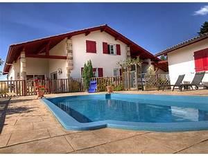 chambres d39hotes avec piscine et vue montagne au pays With location maison avec piscine pays basque