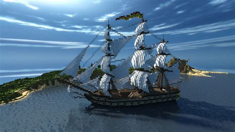 How To Make A War Boat In Minecraft by 5th Rate Frigate Minecraft Project