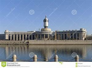 Railway Station Of Tianjin City Royalty Free Stock Image ...