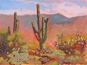 Saguaro Cactus by Robert Bissett