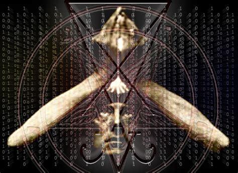illuminati satanic aleister crowley overlaid with satanic matrix imagery