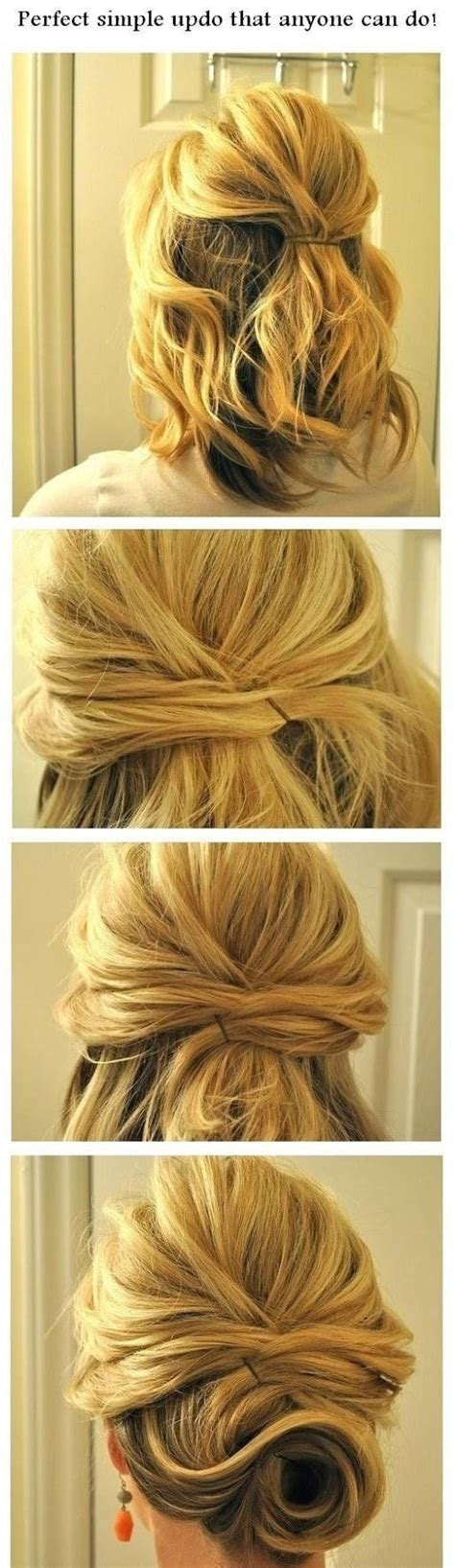 15 Cute and Easy Hairstyle Tutorials For Medium Length