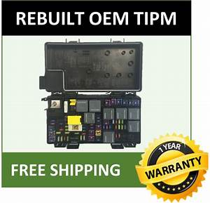 2010 Dodge Journey Tipm    Fuse Box Oem 04692305