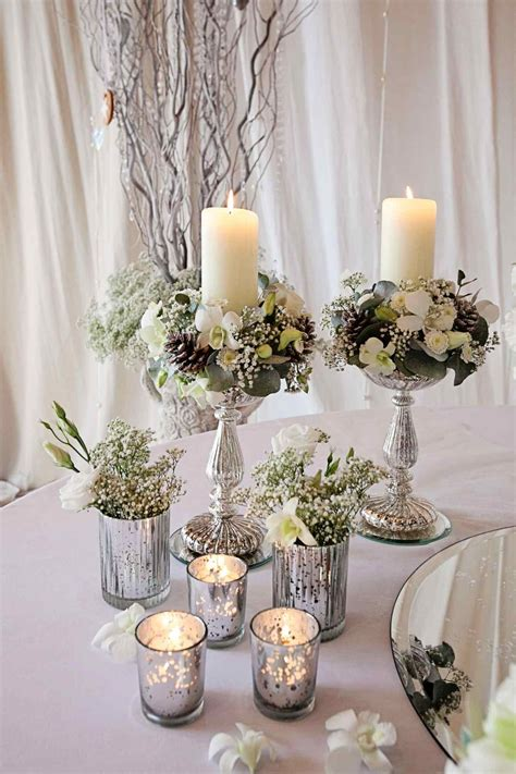 U Spring Centerpieces Without Flowers Decor Real Weddings