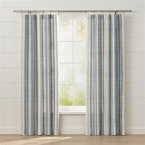 carmelo patterned curtains crate  barrel