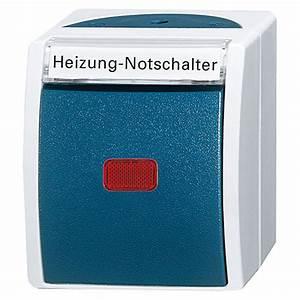 Bauhaus Busch Jäger : busch jaeger ocean heizungsnotschalter blaugr n aufputz ip44 bauhaus ~ Frokenaadalensverden.com Haus und Dekorationen