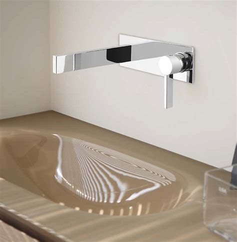 designer faucets bathroom luxury wall mount bathroom faucet caso chrome