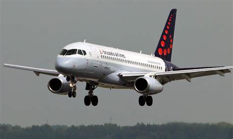 bureau airlines bruxelles sukhoi superjet ssj100