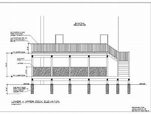 Deck Drawings Deck Construction Drawings Deck Design And ...