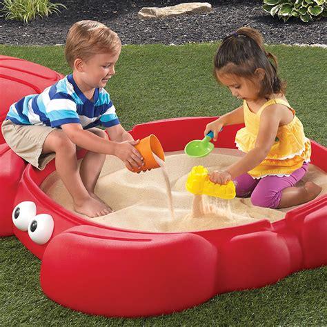 step 2 crabbie sand table crabbie sandbox kids sand water play step2