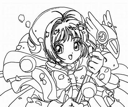 Coloring Pages Teenagers Anime Teens