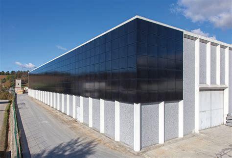 tettoie fotovoltaiche tettoie frangisole balaustre facciate ventilate