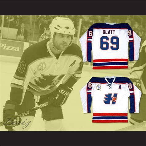 goon doug glatt halifax highlanders hockey jersey includes