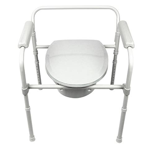 Handicap Portable Toilet Chair by Commode By Vive Bedside Commode For Seniors Handicap