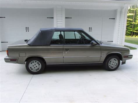 1986 renault alliance 1986 renault alliance low miles great condition